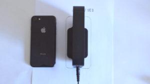 WSR-1166DHPL2は、iPhoneSE2分の面積