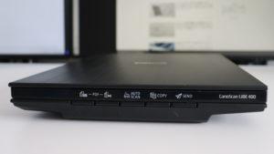 CanoScan LiDE 400 側面ボタン