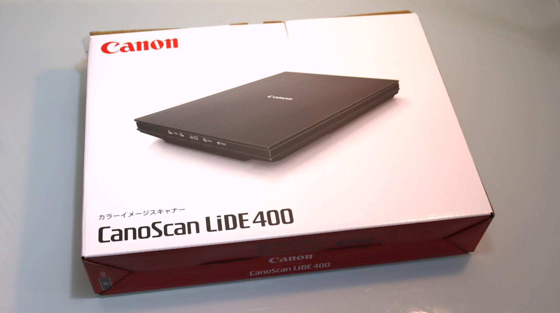 CanoScan LiDE 400 パッケージ