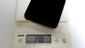 Anker PowerPort Atom Ⅲ Slimは、148g