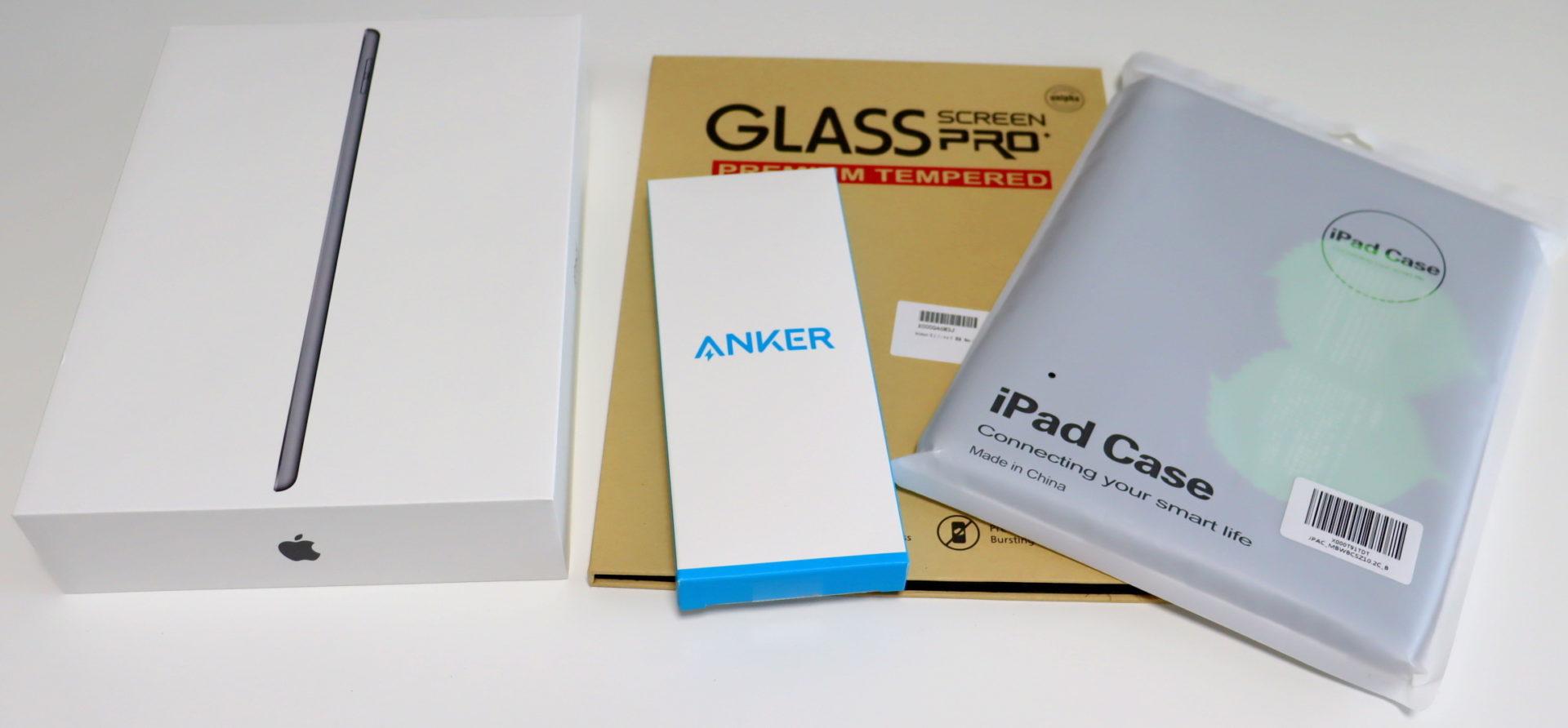 iPadと一緒に購入したアクセサリー