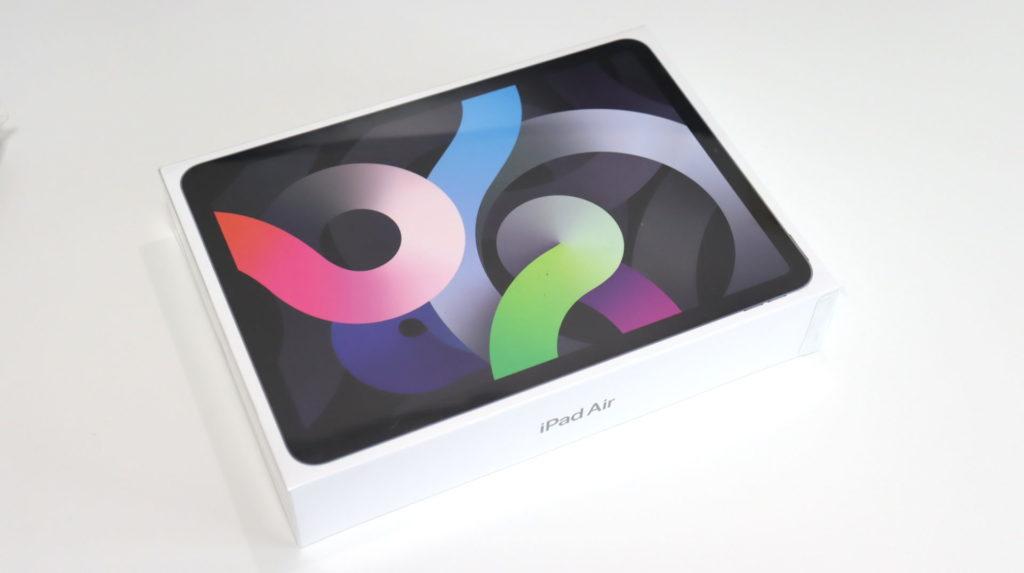 iPad Air4のパッケージ