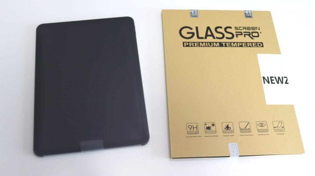 Newzerol For iPad air4 10.9インチ専用 強化ガラスフィルム