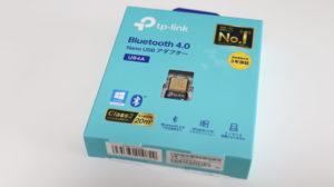 TP-Link Bluetooth USBアダプタ「UB4A」のパッケージ