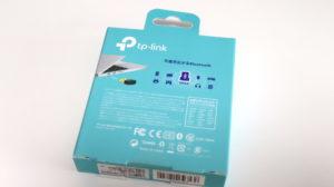 TP-Link Bluetooth USBアダプタ「UB4A」のパッケージ裏面