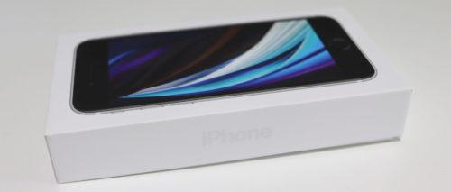 iPhone SE2のパッケージ