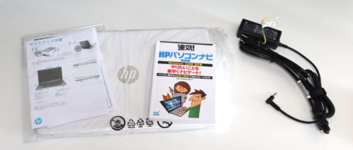 HP 15s-eq1000の付属品一覧