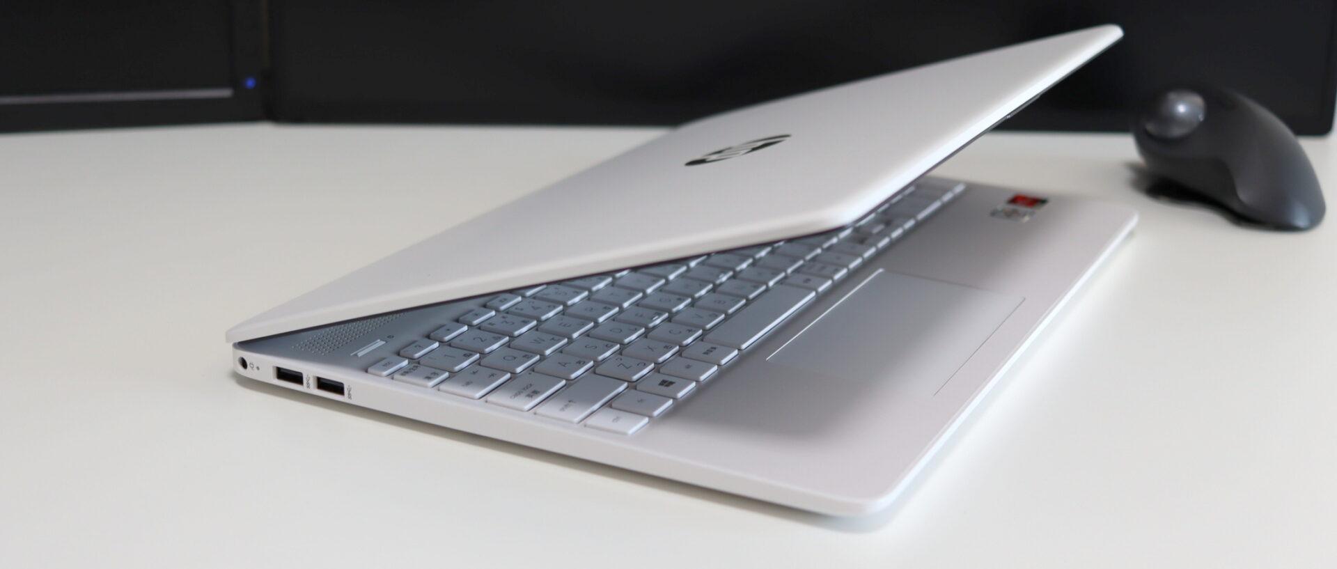 HP 15s-eq1000の左サイドデザイン
