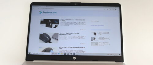 HP 15-e1000の液晶画面