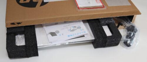 HP 15s-eq1000の配送パッケージから開梱レビュー