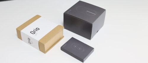 Qrio LockとQrio hubとQrio Keyのパッケージ
