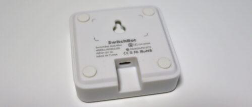 SwitchBot Hub Miniのデザイン裏面