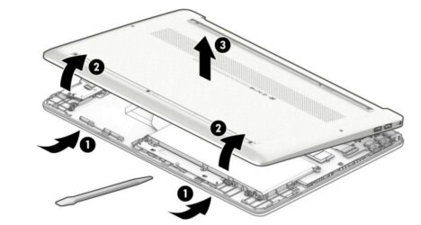 HP 15s-eq1000の自己修理方法