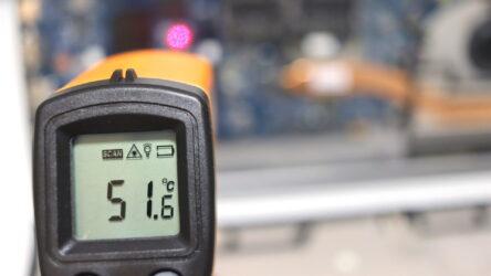 WDS960G2G0Cの動作時温度実測